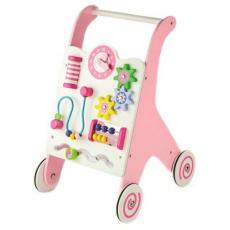 Ходунки Viga Toys каталка розовая (50178)