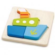 Развивающая игрушка Viga Toys Кораблик (50171)