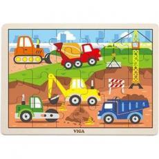 Пазл Viga Toys Строительная техника (51463)