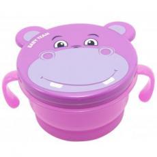 Набор детской посуды Baby Team Контейнер для снеков Непросыпайка (6205)