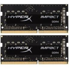 Модуль памяти для ноутбука SoDIMM DDR4 16GB (2x8GB) 2666 MHz HyperX Impact Kingston (HX426S15IB2K2/16)