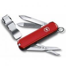 Мультитул Victorinox NailClip 580, 65 мм, красный (0.6463)