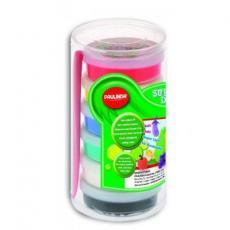 Набор для творчества Paulinda Super Dough 6*14г пластиковый бокс (PL-081051)