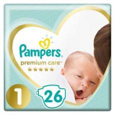 Подгузник Pampers Premium Care New Born Размер 1 (2-5 кг) 26 шт (8001841104614)