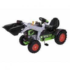 Веломобиль BIG Трактор-погрузчик педальный BIG Джим Турбо (56513)