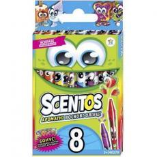 Набор для творчества Scentos Набор ароматных восковых карандашей ДРУЖНАЯ КОМПАНИЯ 8 цв (40279)