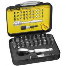 Набор инструментов Stanley Expert Line с трещоткой 32 предмета (1-13-904)