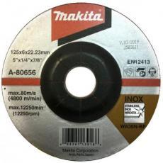 Диск Makita зачисной 125 мм 36N по нержавеющей стали (A-80656)