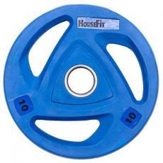 Диск для штанги HouseFit олимпийский 10 кг (OR-102-10)