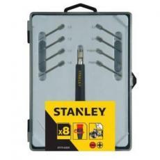 Отвертка Stanley прецизионная + 8 сменных бит (STHT0-62629)