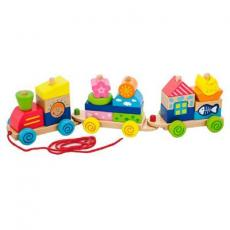 Каталка Viga Toys Паровозик (50089)