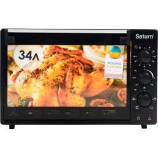 Электропечь SATURN ST-EC3402 Black